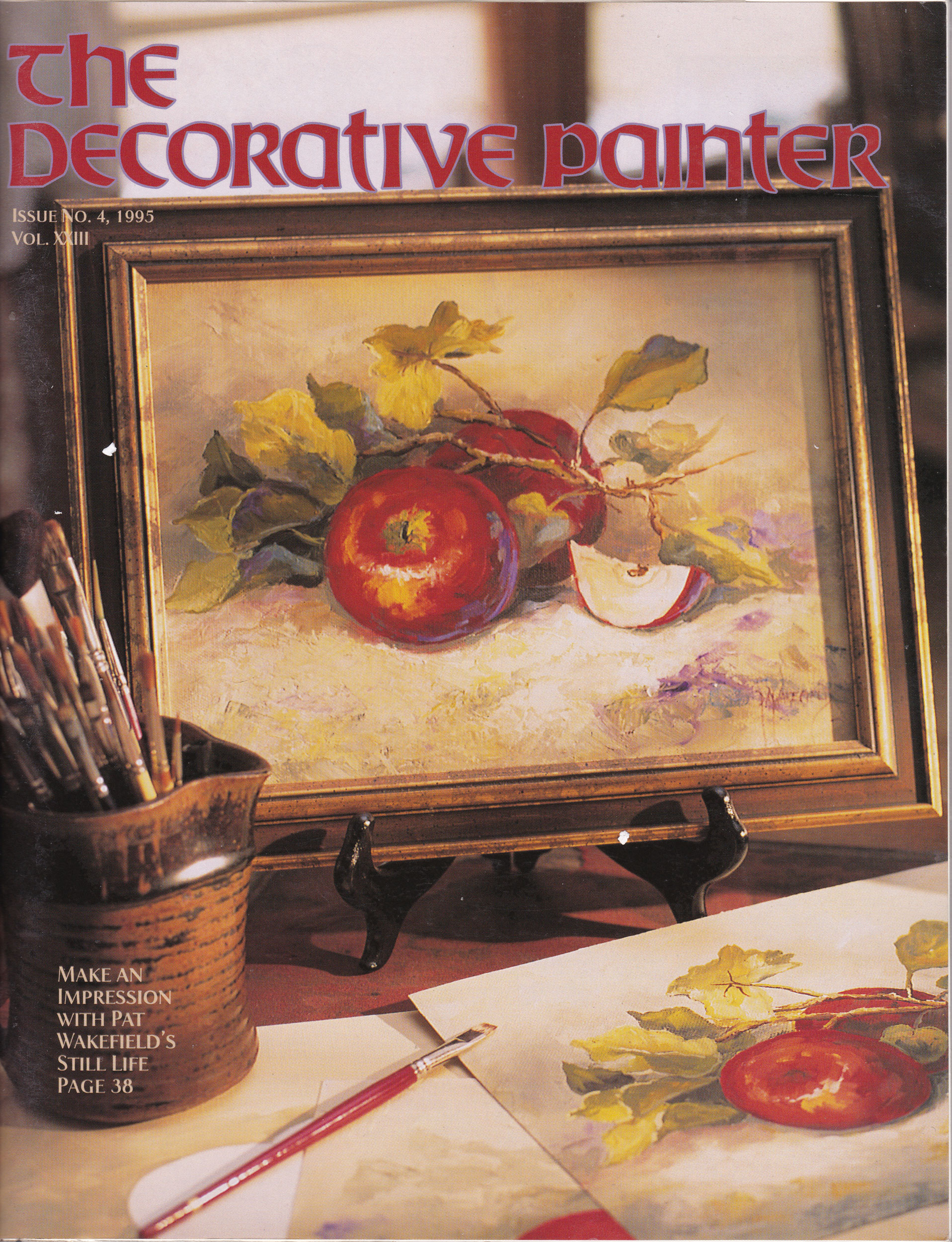 Magazine The decorative Painter - 1995 N°4