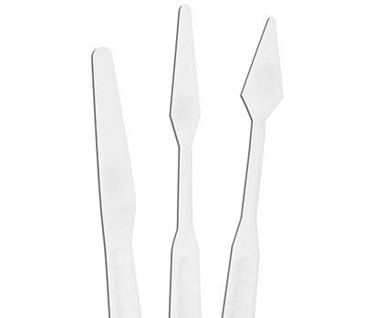set de 3 couteaux à peindre en plastique - Royal & Langnickel