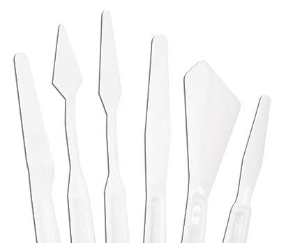 set de 6 couteaux à peindre - Royal & Langnickel