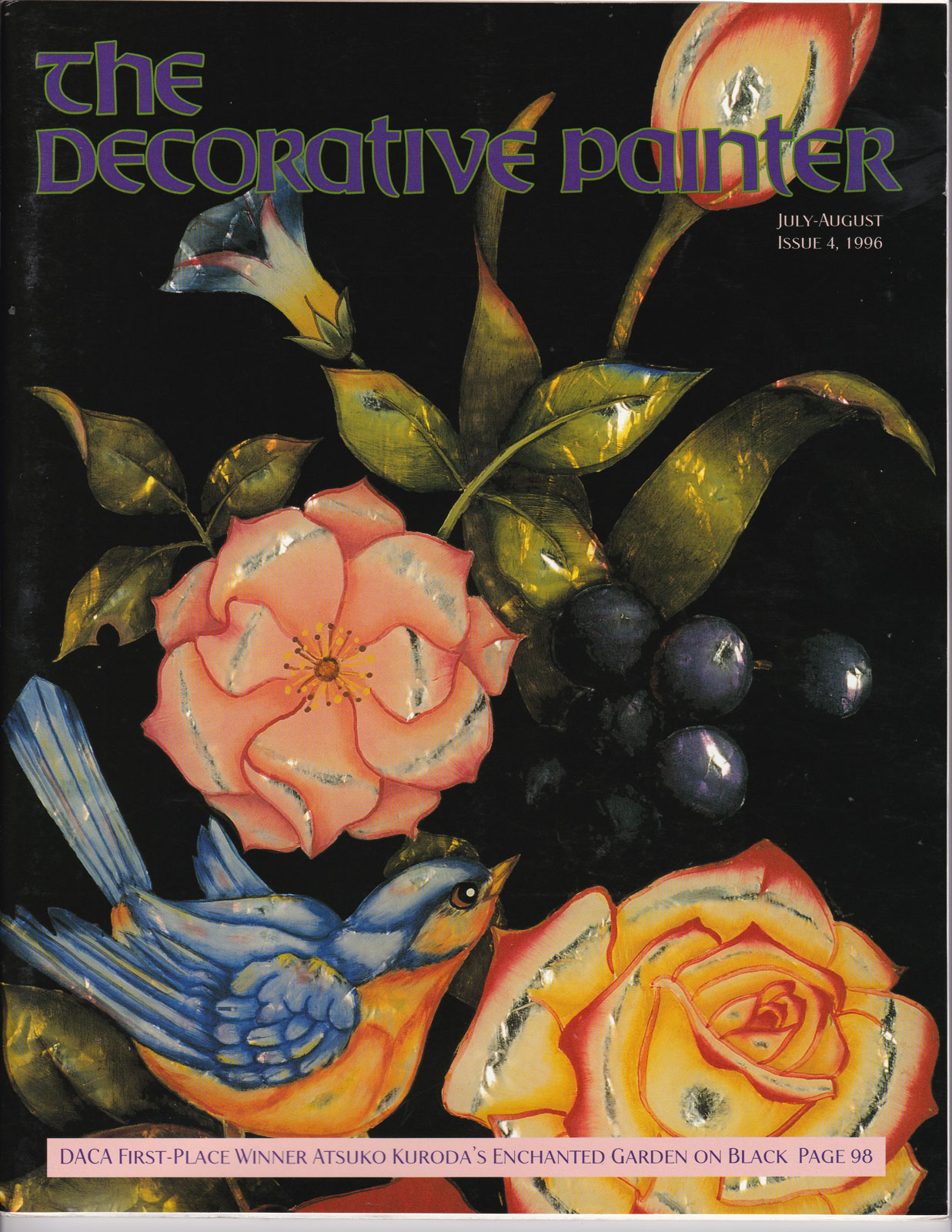 Magazine The decorative Painter - 1996 N°4