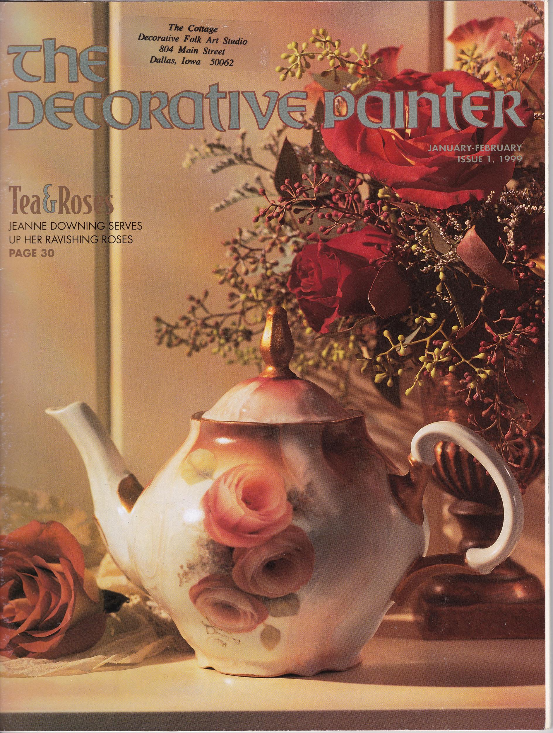 Magazine The decorative Painter - 1999 N°1