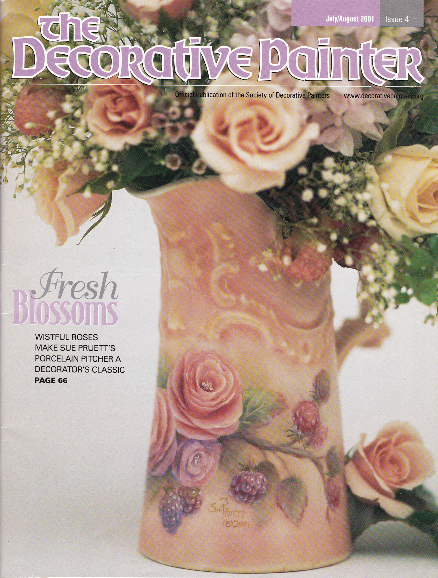 Magazine The decorative Painter -2001 N°4