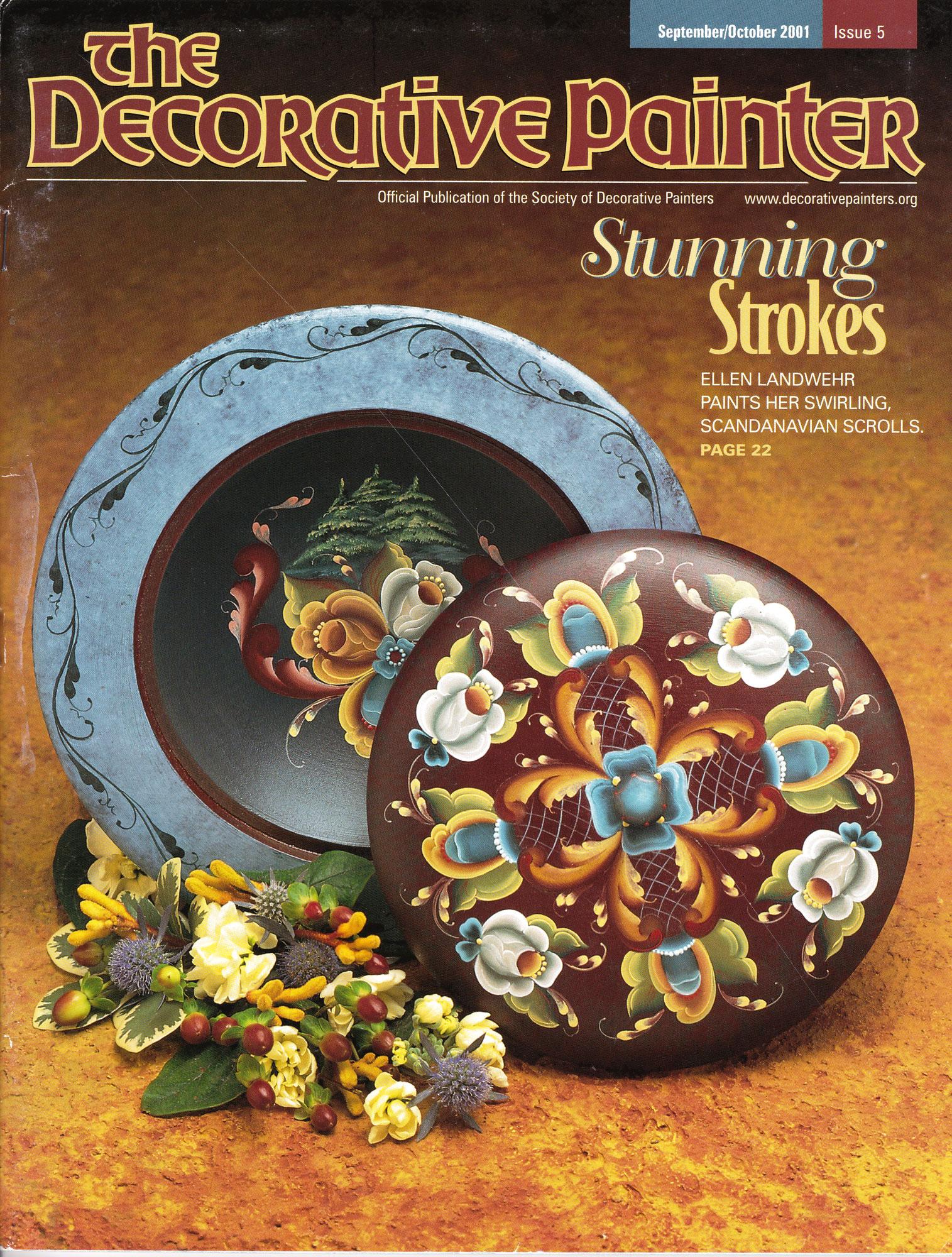 Magazine The decorative Painter -2001 N°5