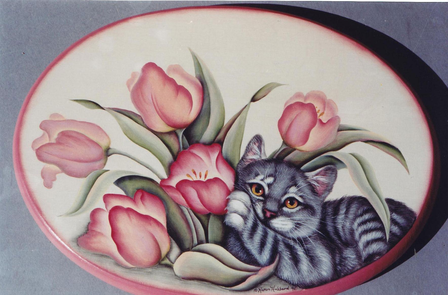 Spring kitten - Karen Hubbard