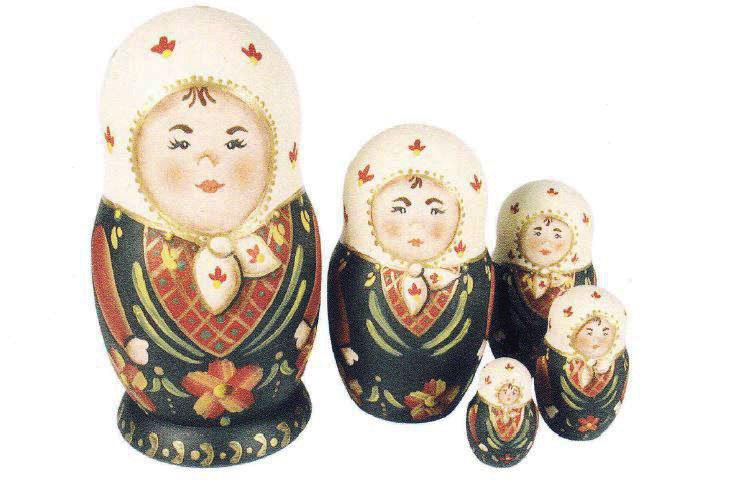 Poupées russes (Matriochkas) - L\'atelier d\'Anne-Marie