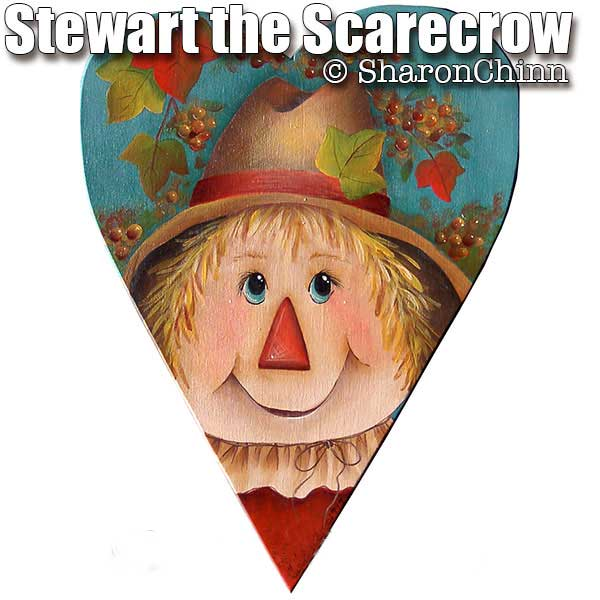 Stewart the scarecrow par Sharon Chinn