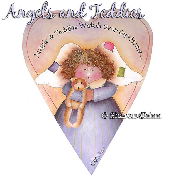 Angel & Teddy par Sharon Chinn