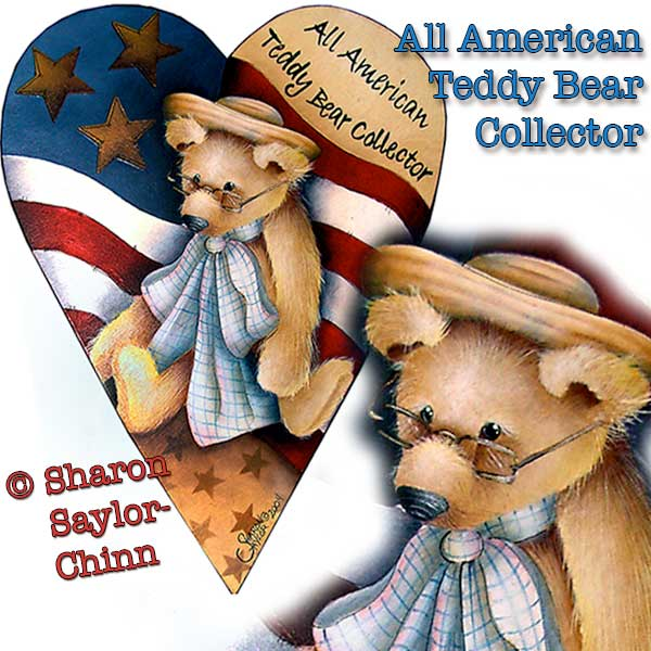 All american Teddy bear collector par Sharon Chinn