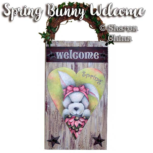 Spring bunny heart par Sharon Chinn