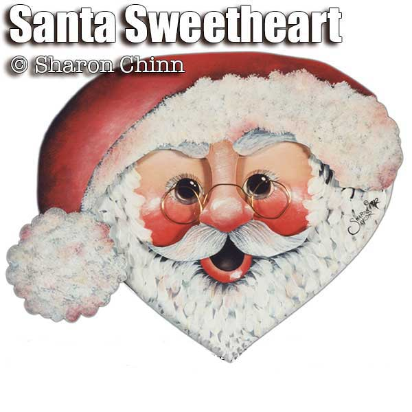 Santa Sweet Heart par Sharon Chinn