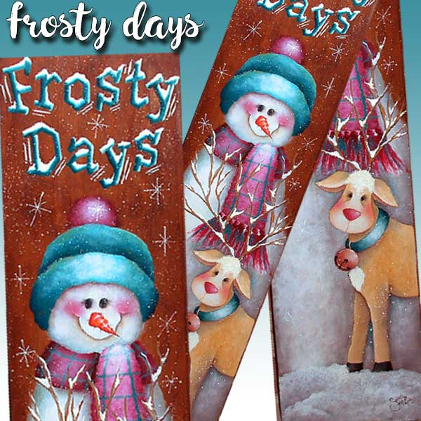 Frosty days par Sharon Chinn
