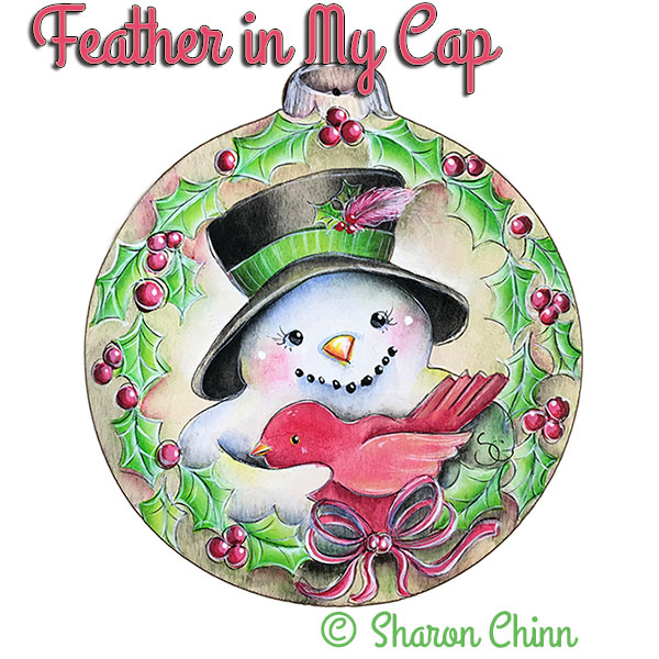 Feather in my cap par Sharon Chinn