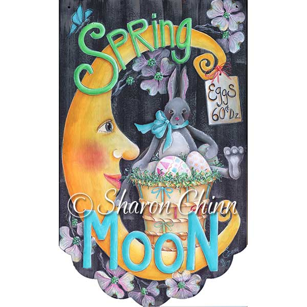 Spring moon par Sharon Chinn