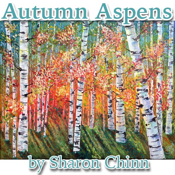 Autumn Aspens par Sharon Chinn