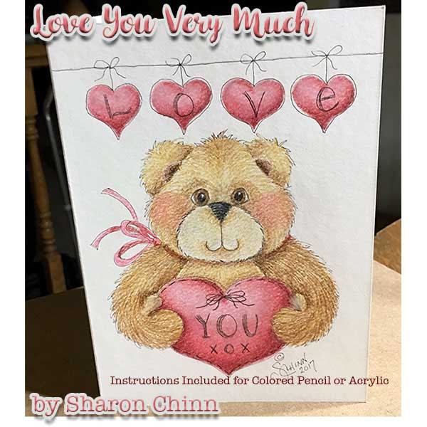 Love you Beary much by Sharon Chinn