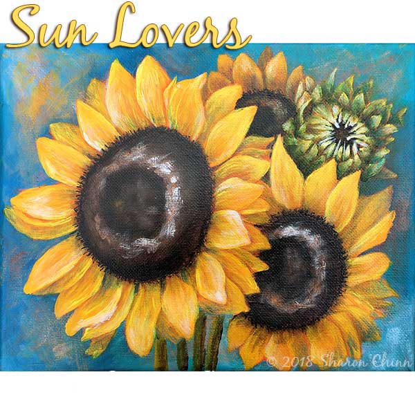 Sun lovers par Sharon Chinn