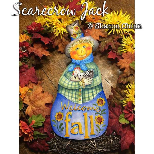 Scarecrow Jack par Sharon Chinn