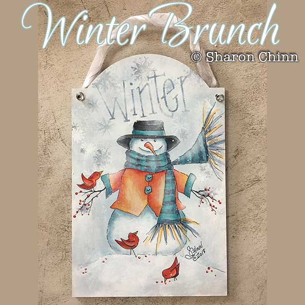 Winter brunch par Sharon Chinn