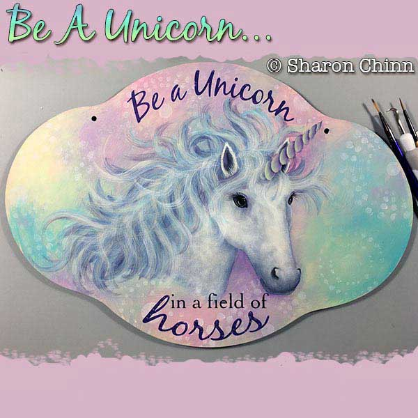 Be a unicorn par Sharon Chinn