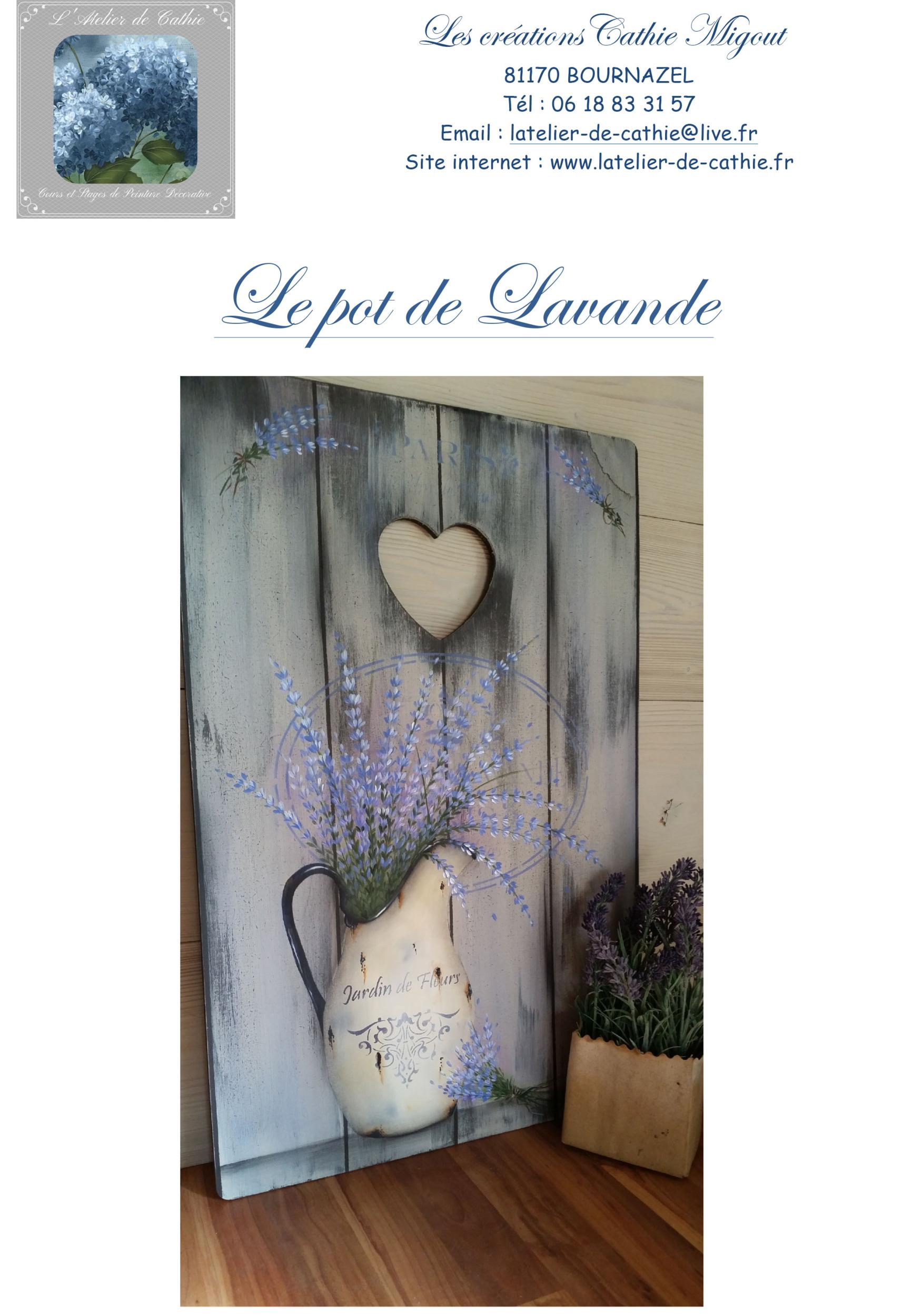 Le Pot de lavande - Les créations Cathie Migout