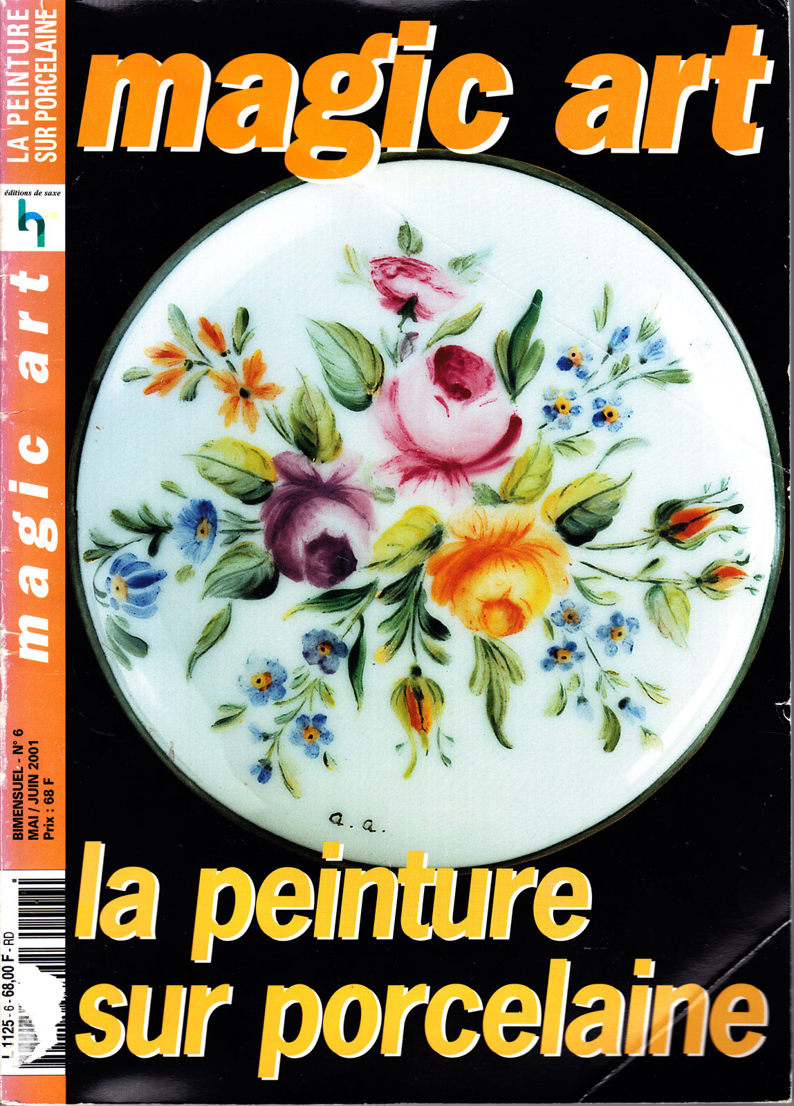 La peinture sur porcelaine - Magic art N°6