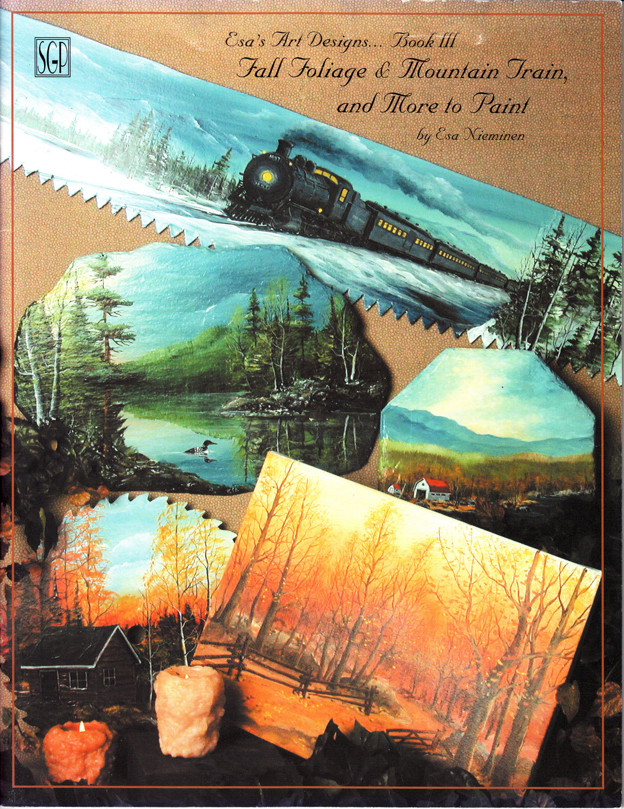 Fall foliage, mountain train and more to paint - Esa Nieminen