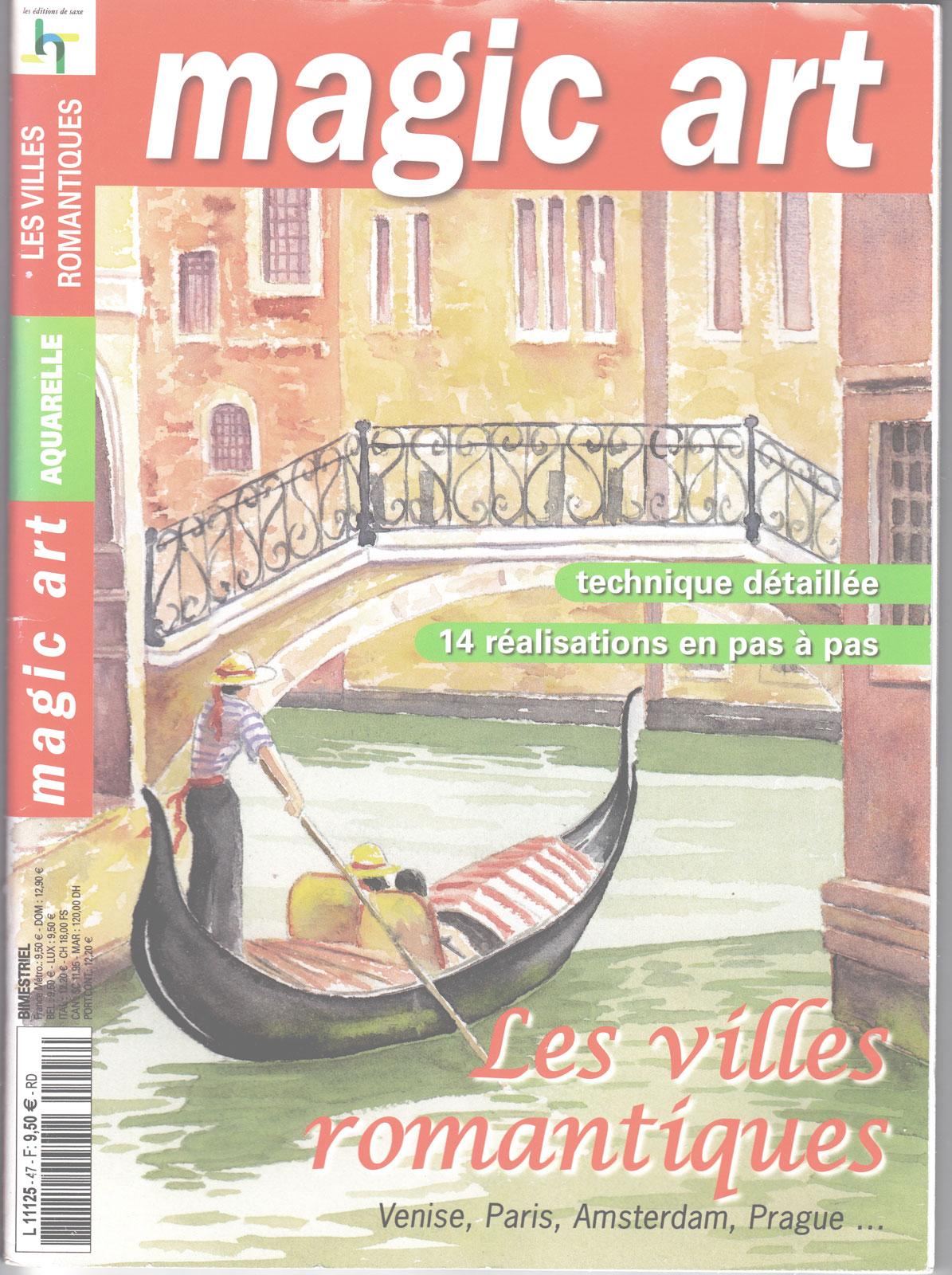 Revue Magic Art -  N°47 - Aquarelle - Les villes romantiques