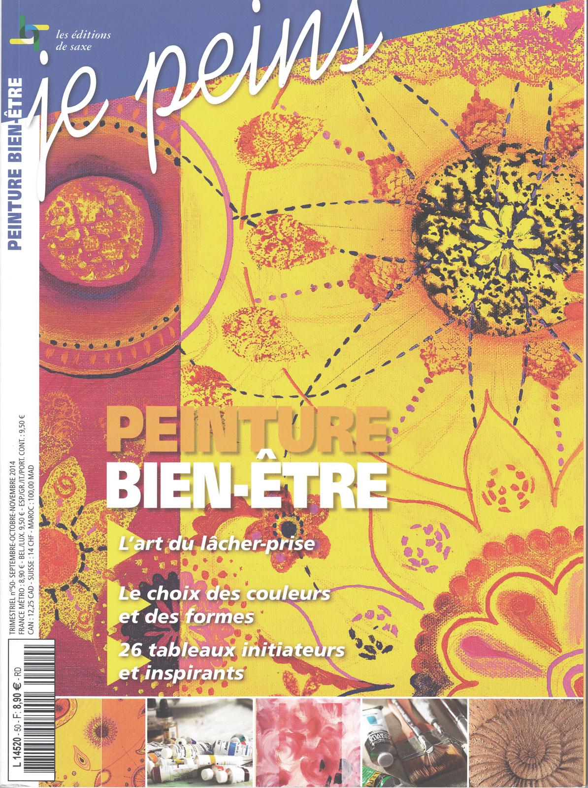 Magazine je peins - Peinture Bien-Etre