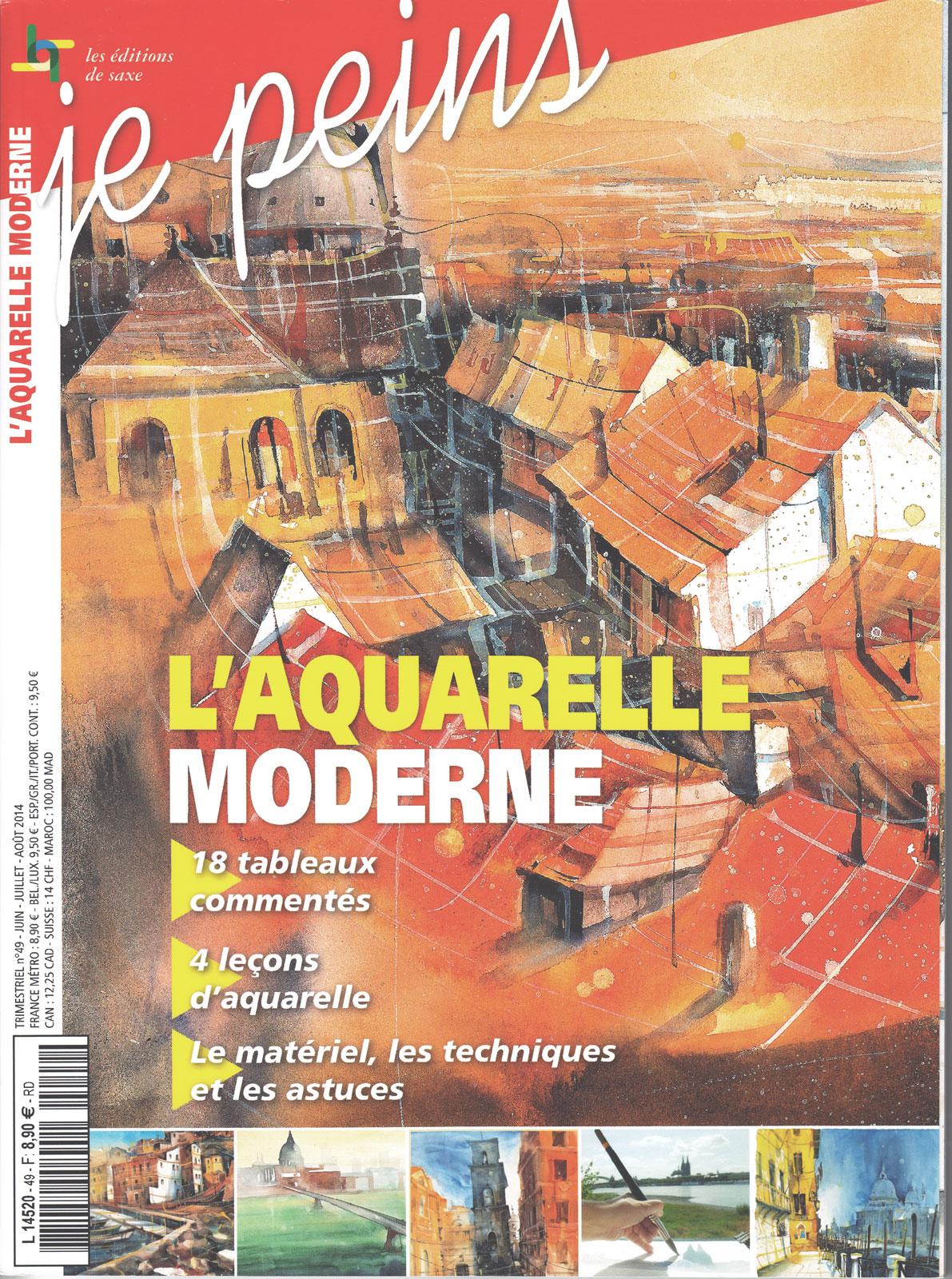 Magazine je peins - L\'aquarelle moderne