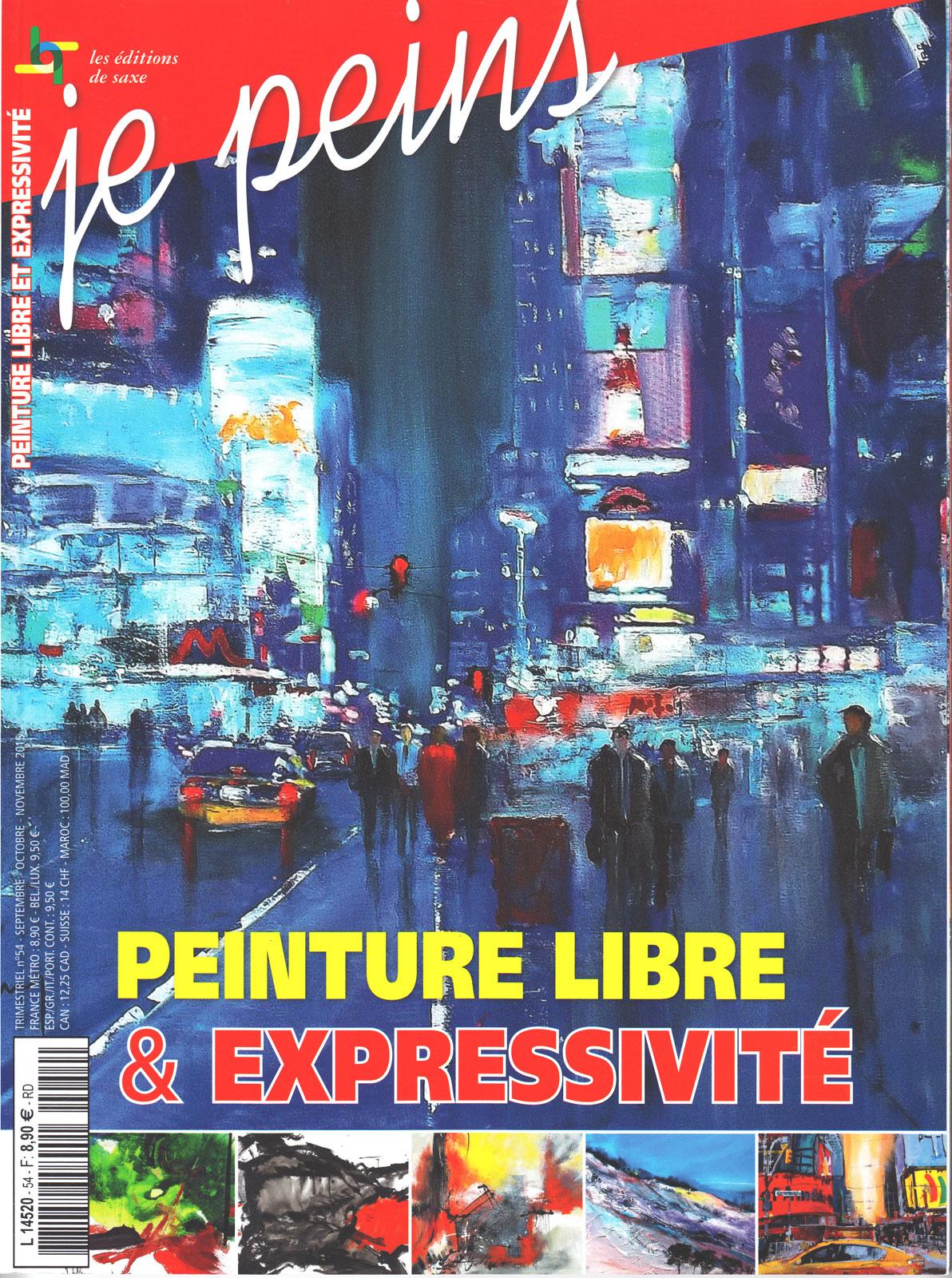 Magazine je peins - Peinture libre et expressivité