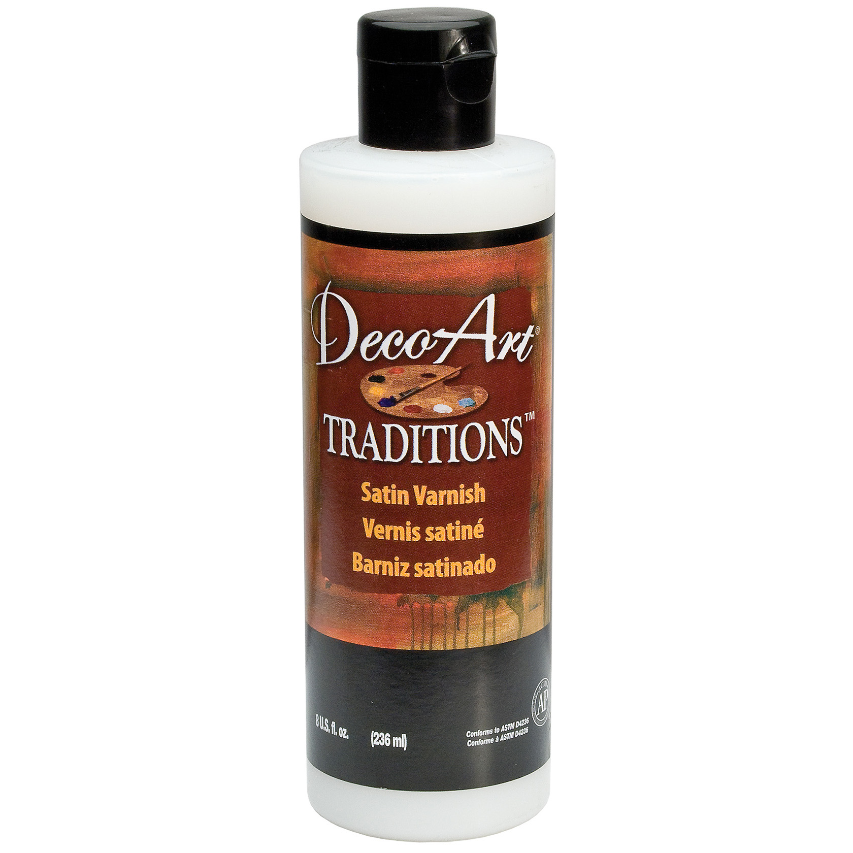 Vernis acrylique satiné - Traditions (DecoArt) - 236ml