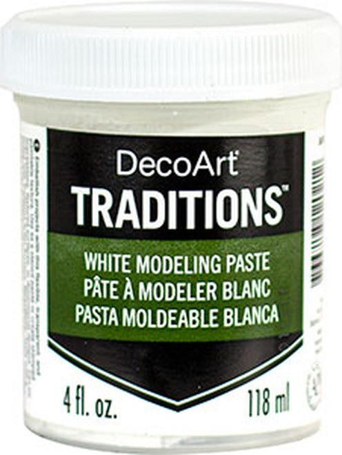 Pâte à modeler - blanc - Traditions (Dec oArt) - 118ml