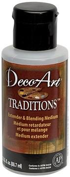 Médium retardateur et pour mélange - Traditions (DecoArt) - 90ml