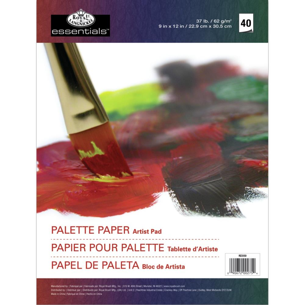 bloc papier palette - Royal & Langnickel
