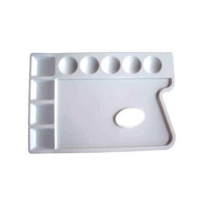 Palette rectangulaire en plastique  - Manet