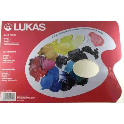 Bloc palette en papier - Lukas - 21x29,7cm