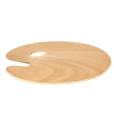 Palette ovale en bois huilé - Lukas
