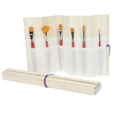 Natte en bambou pour pinceaux Aquarelle - Manet