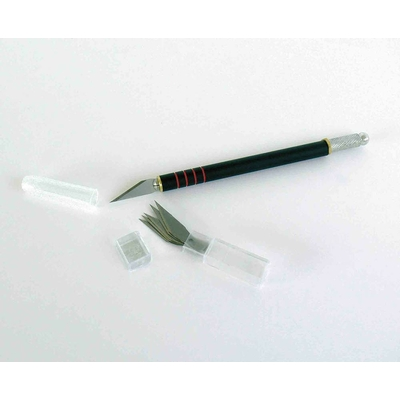 GRAPHO'CUT Kit couteau N°1 + 5 lames N°1 - avec capuchon