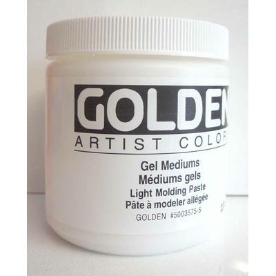 Pâte de structure légère - Golden - 237ml