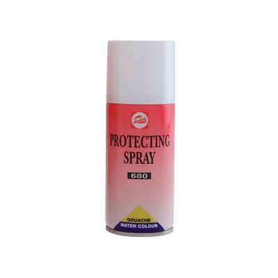 Spray protecteur pour aquarelle et gouache - Talens 680 - 400ml