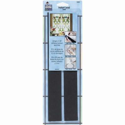 Bandes adhésives couleur plomb pour vitrail - 3,3mm X7,3m