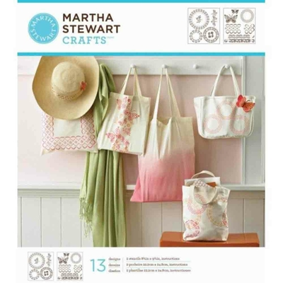 "Pochoirs  - Martha Stewart - motifs ""tricot filet"""