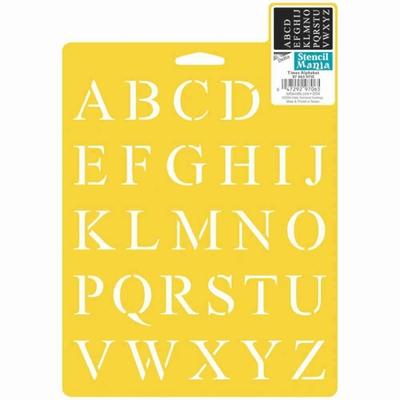 Pochoirs Delta Creative - Alphabet