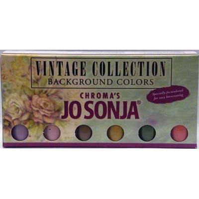 Set couleurs de fond Jo Sonja - Vintage Collection