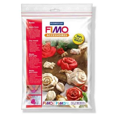 """Moule pour Fimo: """"Roses"""""""