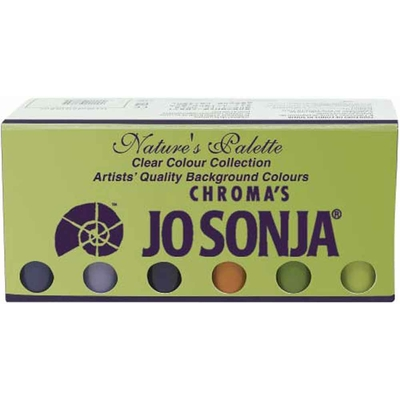 Set couleurs de fond Jo Sonja - Clear Collection