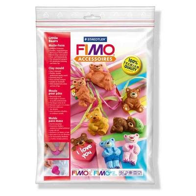 """Moule pour Fimo: """"Oursons"""""""