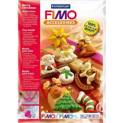 """Moule pour Fimo: """"Joyeux de Noël"""""""