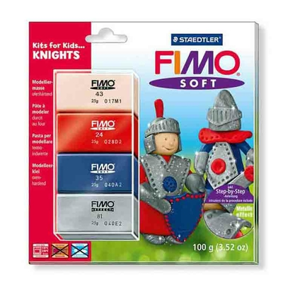"Fimo soft - set ""Chevaliers"""